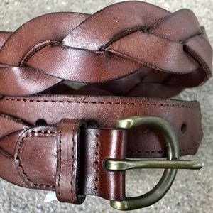 NWT Abercrombie & Fitch Brown Leather Belt